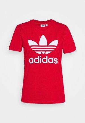 TREFOIL TEE - Print T-shirt - light red