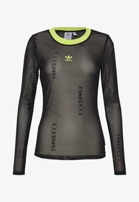 adidas Originals - FIORUCCI INLINE SHEER LONG SLEEVE T-SHIRT - Longsleeve - black - 3