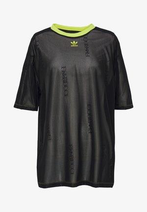 SHEER - T-shirts med print - black