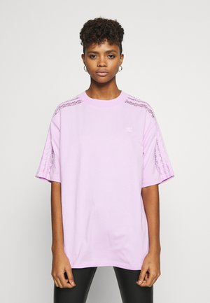 LACE TEE - Print T-shirt - clear lilac