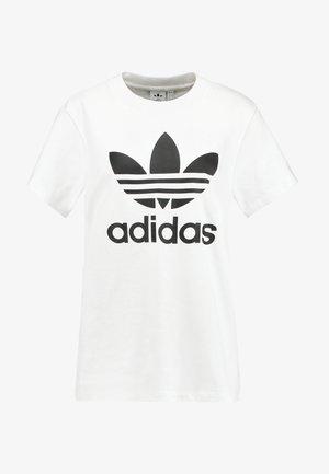 BOYFRIEND TEE - T-shirt imprimé - white