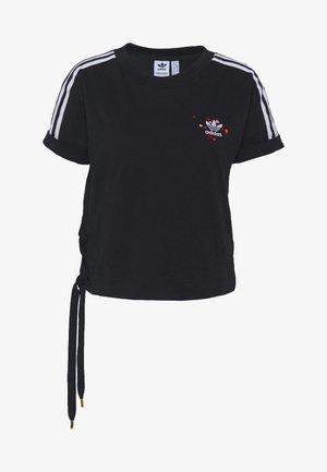 TREFOIL SHORT SLEEVE TEE - T-shirt print - black