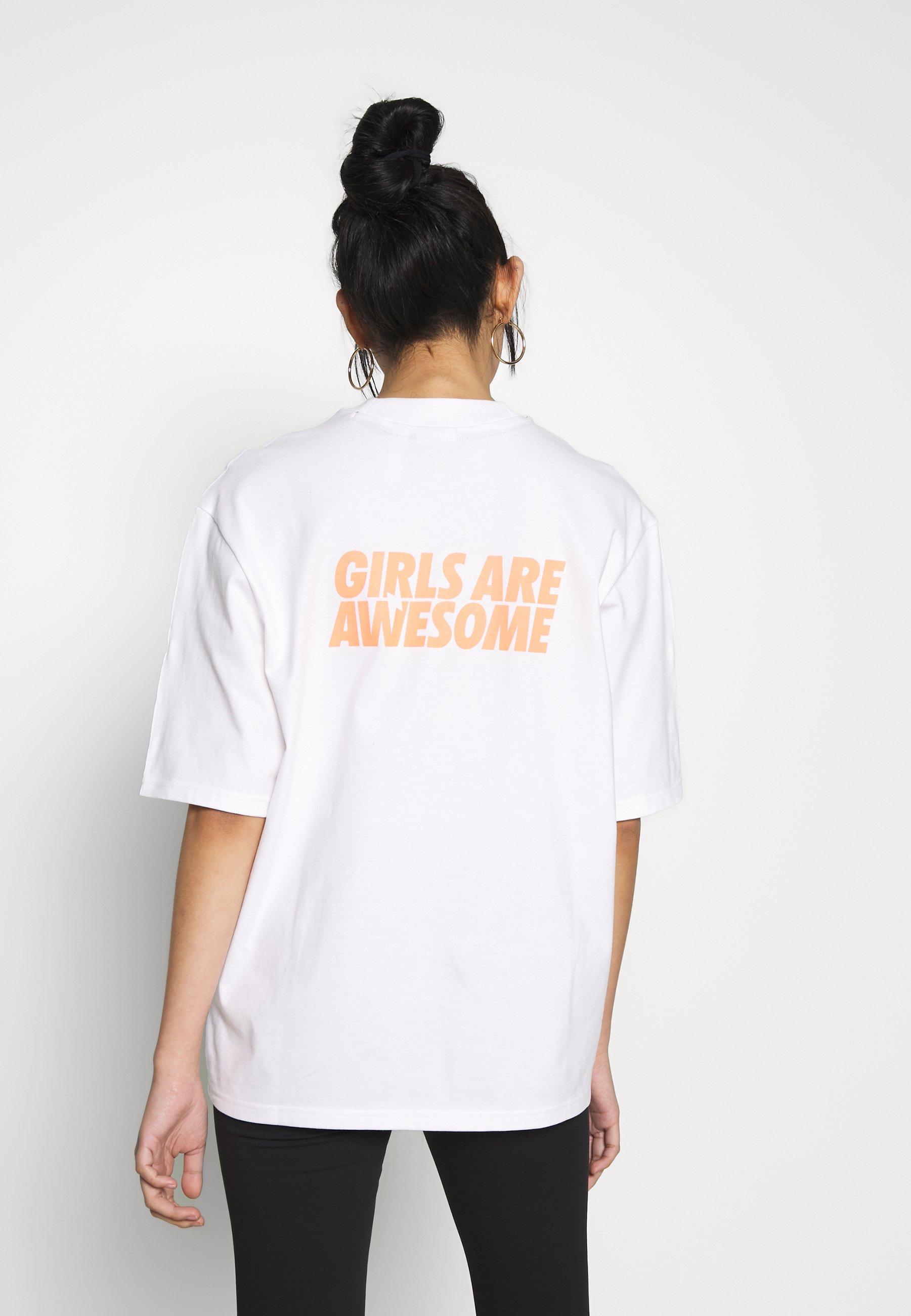 adidas Originals T-shirt z nadrukiem - white