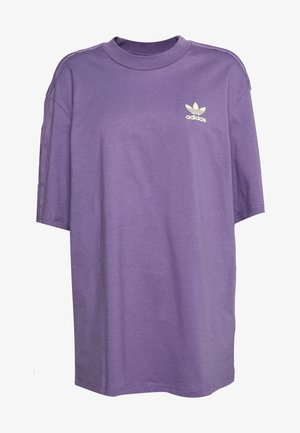 GIRLS ARE AWESOME SHORT SLEEVE TEE - T-shirt con stampa - tech purple