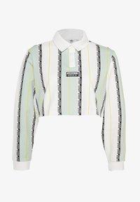 adidas Originals - Poloskjorter - white/green tint - 0