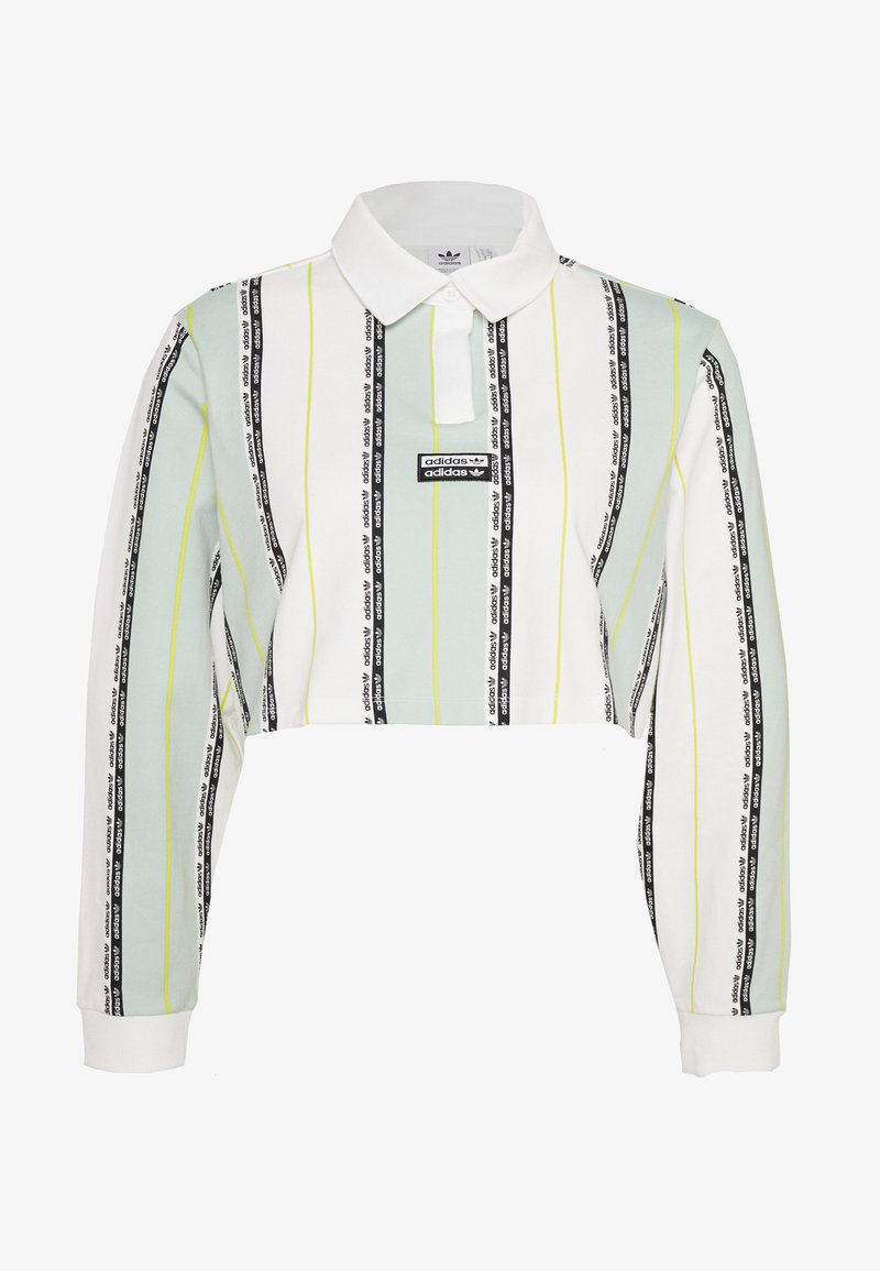 adidas Originals - Poloskjorter - white/green tint
