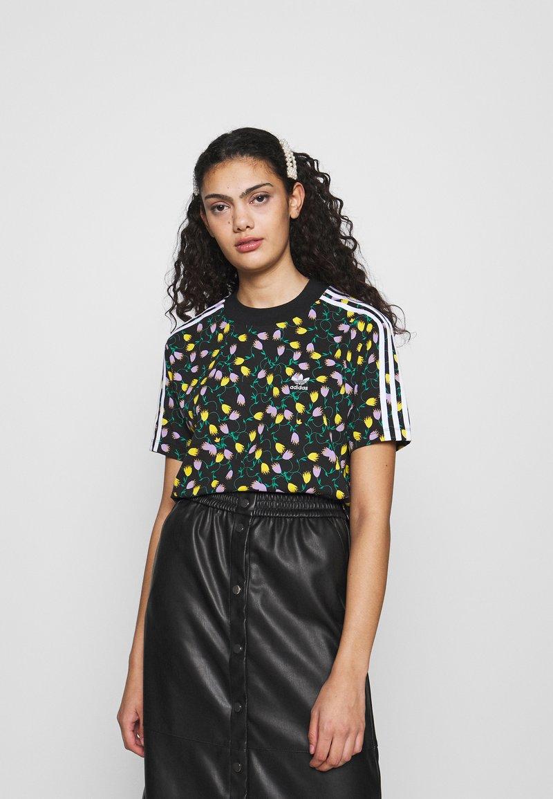 adidas Originals - CROPPED TEE - Print T-shirt - multicolor
