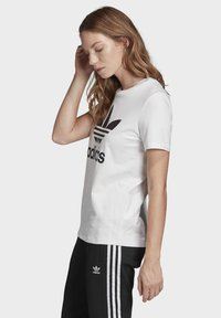 adidas Originals - Print T-shirt - white - 2