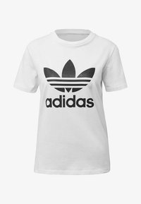 adidas Originals - T-shirts med print - white