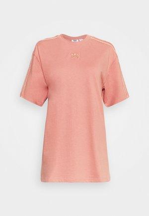 T-shirt con stampa - ash pink