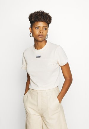 TEE - T-shirts med print - beige