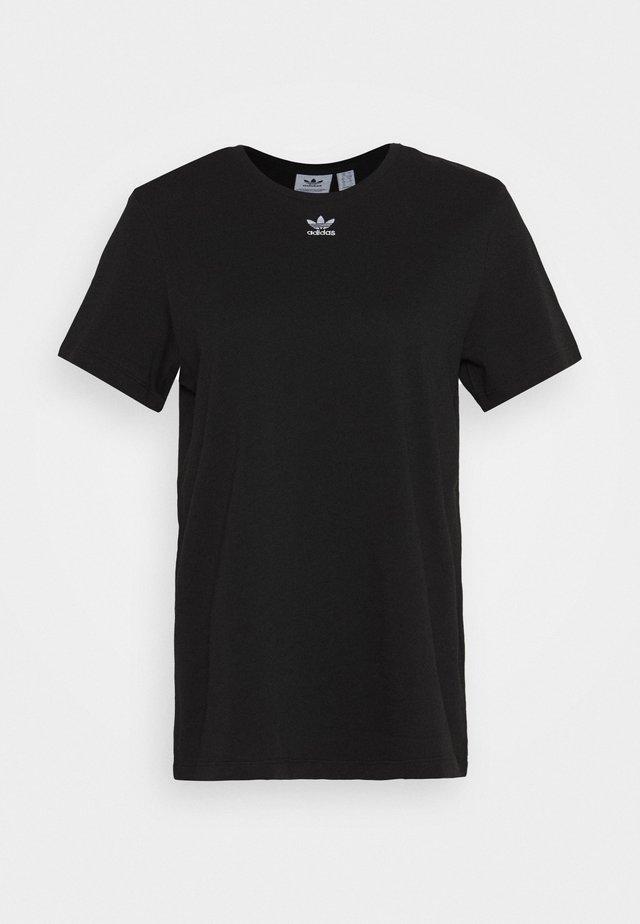 T-SHIRT - T-shirt z nadrukiem - black