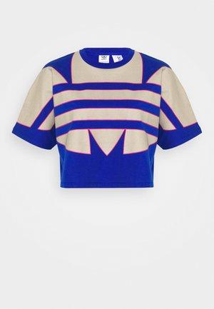 BIG TEE - T-shirt z nadrukiem - team royal blue