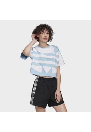 2020-02-15 LARGE LOGO T-SHIRT - T-Shirt print - blue