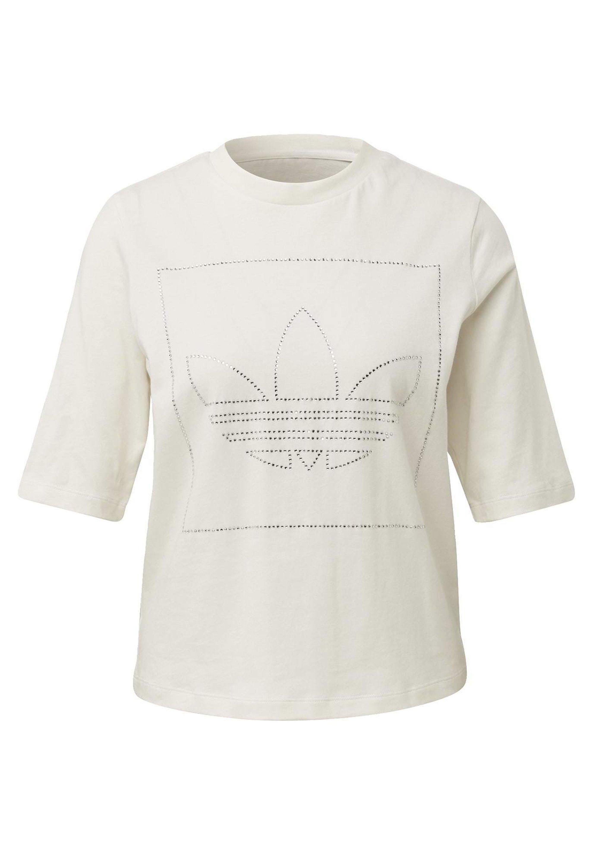 Adidas Originals T-shirt - Con Stampa White aoilVaW