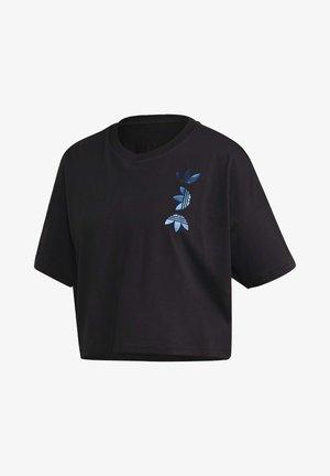 LARGE LOGO T-SHIRT - T-shirt print - black