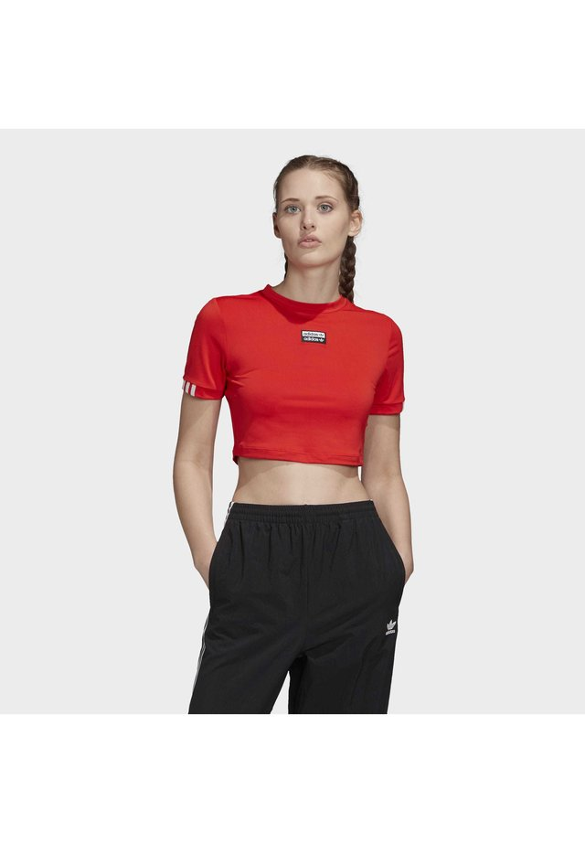 R.Y.V. T-SHIRT - T-shirt con stampa - red