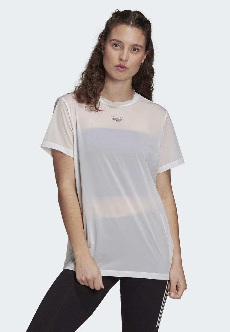 adidas Originals - T-SHIRT - T-shirt basic - white