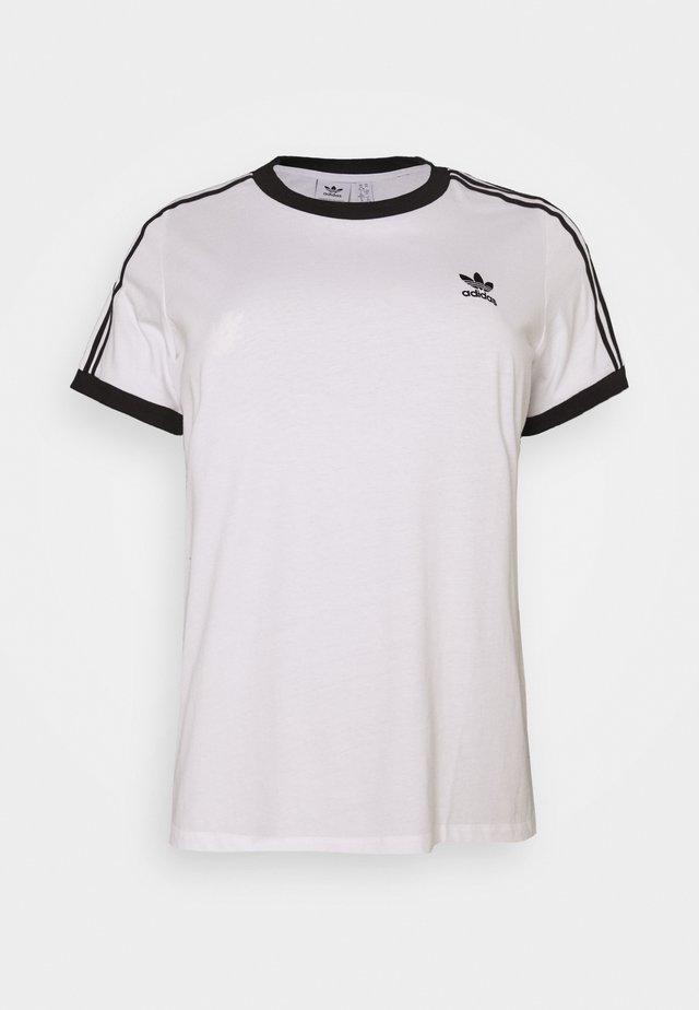 TEE - T-shirt con stampa - white/black