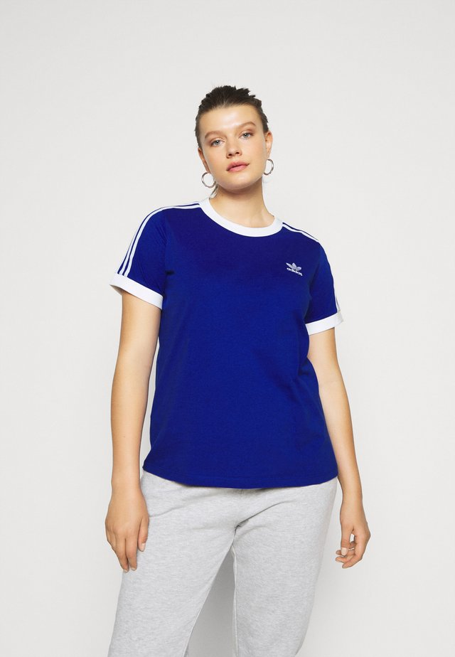 TEE - T-shirt con stampa - blue/white