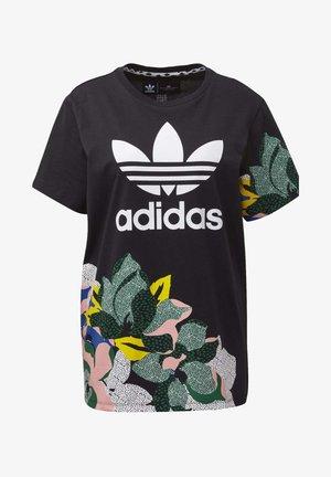 HER STUDIO LONDON LOOSE T-SHIRT - T-shirts print - black