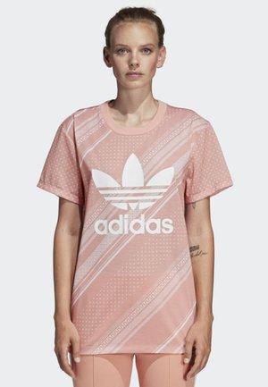 BOYFRIEND TREFOIL T-SHIRT - T-shirt med print - pink