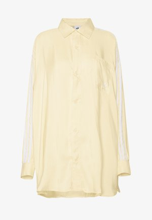 BUTTON UP - Button-down blouse - easy yellow