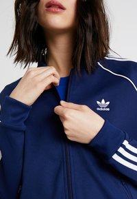 adidas Originals - ADICOLOR 3 STRIPES BOMBER TRACK JACKET - Training jacket - dark blue - 4