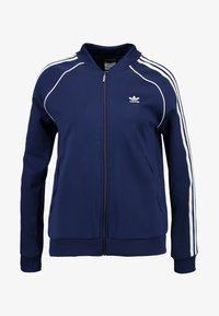 adidas Originals - ADICOLOR 3 STRIPES BOMBER TRACK JACKET - Training jacket - dark blue - 3