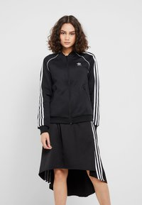adidas Originals - ADICOLOR 3 STRIPES BOMBER TRACK JACKET - Trainingsvest - black - 0