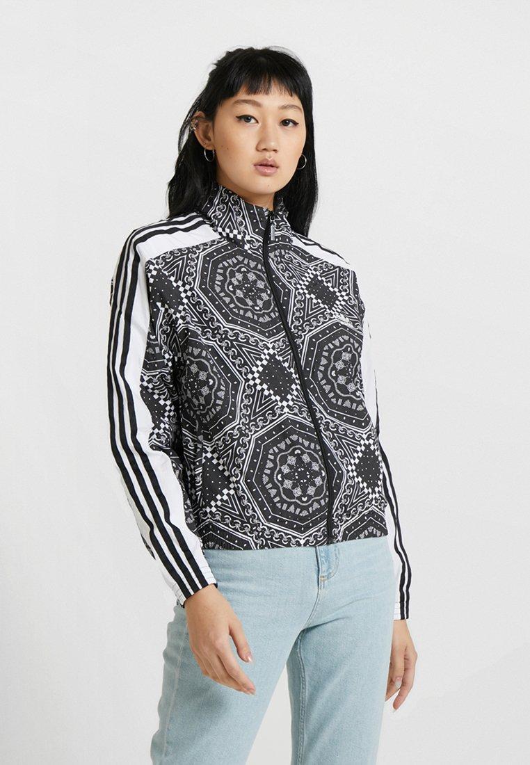 adidas Originals - Windjack - white/black