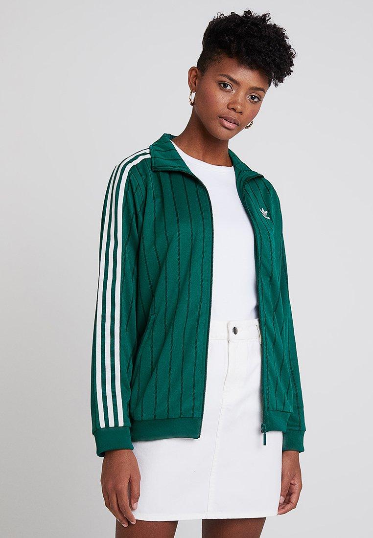 adidas Originals - TRACK TOP - Träningsjacka - collegiate green