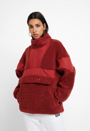 Winter jacket - mystery red