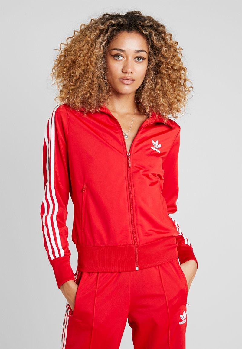 adidas Originals - FIREBIRD - Veste de survêtement - scarlet