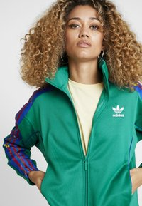 adidas Originals - TRACKTOP - Veste de survêtement - bold green - 3