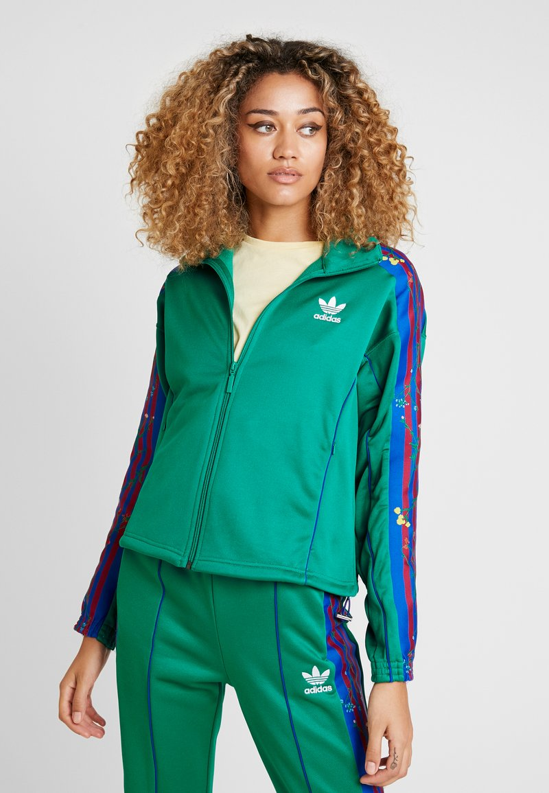 adidas Originals - TRACKTOP - Veste de survêtement - bold green