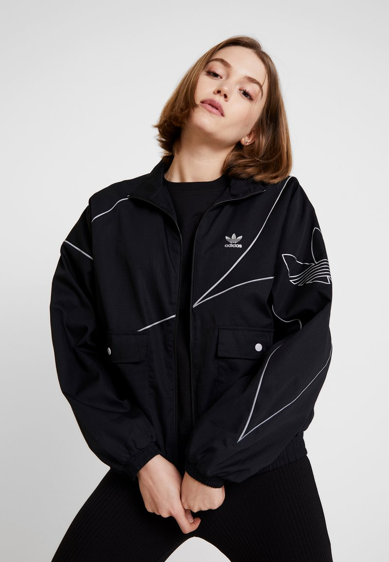 adidas Originals - TRACK - Trainingsjacke - black