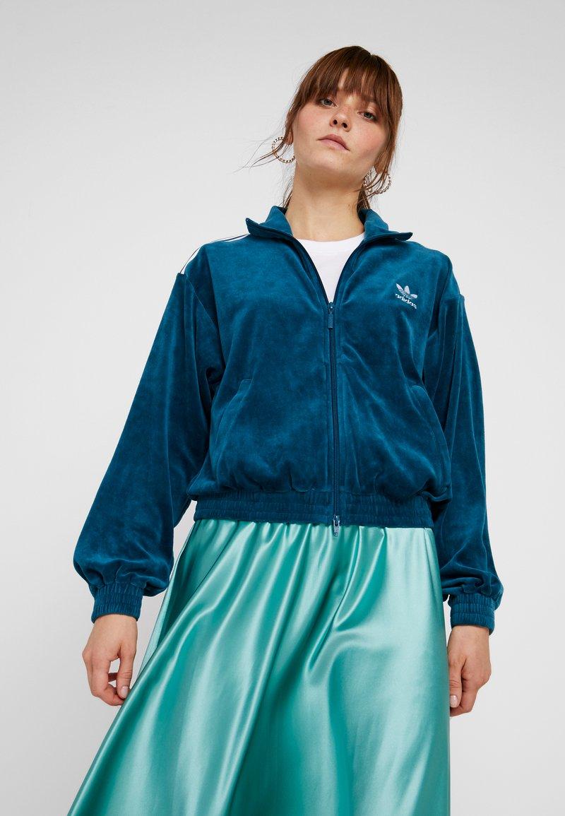 adidas Originals - TRACKTOP - Training jacket - tech mineral
