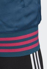 adidas Originals - SATIN BOMBER TRACK TOP - Bombejakke - blue - 3