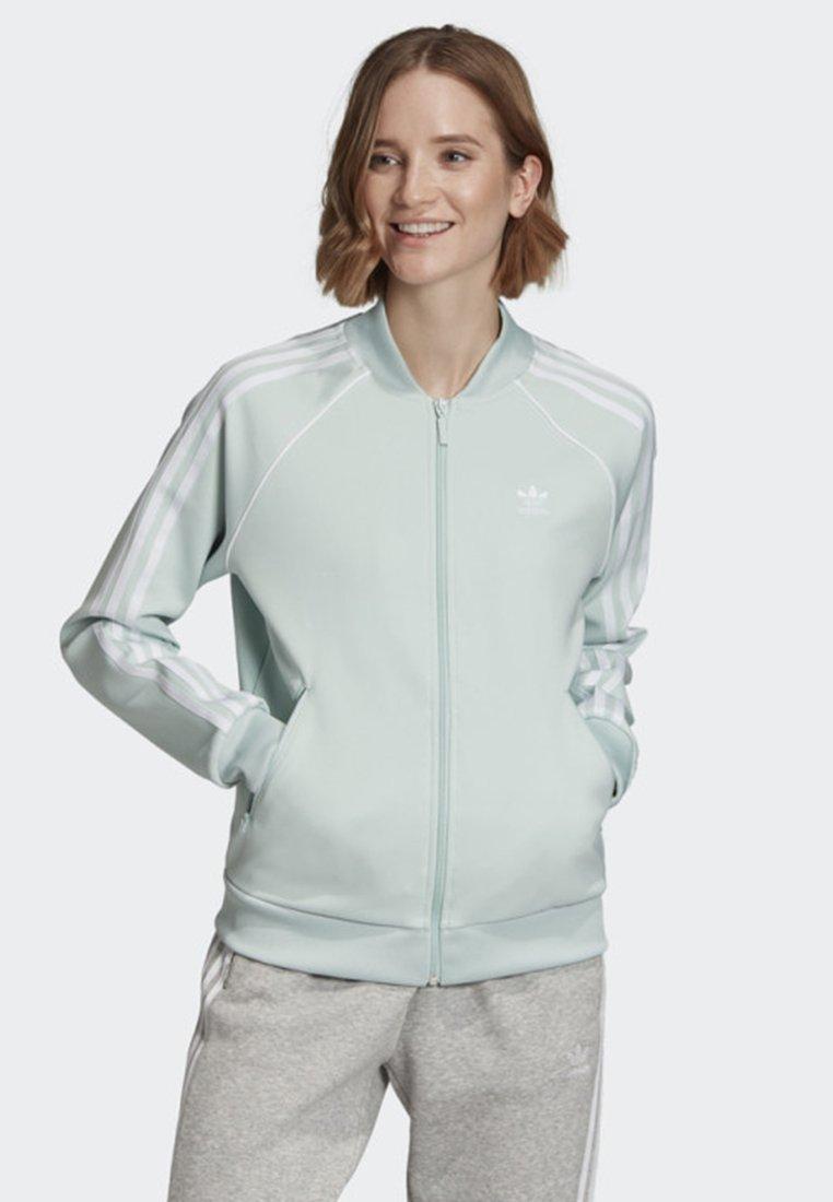 adidas Originals - SST TRACK TOP - Training jacket - green