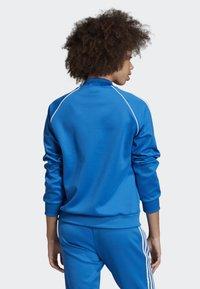 adidas Originals - SST TRACK TOP - Bomber Jacket - blue - 1