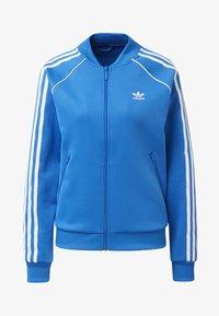 adidas Originals - SST TRACK TOP - Bomber Jacket - blue - 5