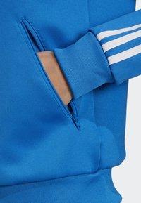 adidas Originals - SST TRACK TOP - Bomber Jacket - blue - 3