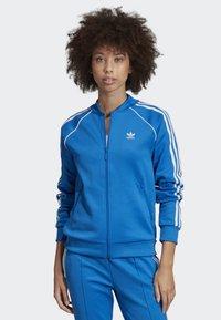 adidas Originals - SST TRACK TOP - Bomber Jacket - blue - 0