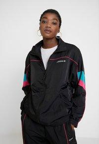 adidas Originals - TECH TRACK - Training jacket - black - 3
