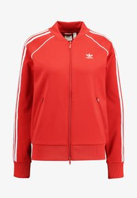 adidas Originals - SUPERSTAR ADICOLOR SPORT INSPIRED TRACK TOP - Giubbotto Bomber - lush red/white - 4