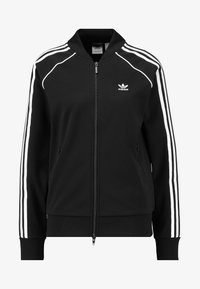 adidas Originals - SUPERSTAR ADICOLOR SPORT INSPIRED TRACK TOP - Bomber Jacket - black/white - 4