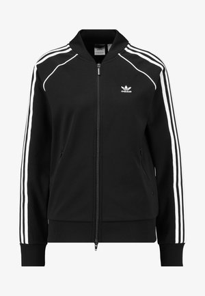 SUPERSTAR ADICOLOR SPORT INSPIRED TRACK TOP - Kurtka Bomber - black/white