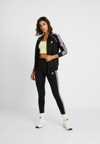 adidas Originals - SUPERSTAR ADICOLOR SPORT INSPIRED TRACK TOP - Bomber Jacket - black/white - 1