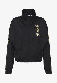 adidas Originals - LOGO - Verryttelytakki - black/gold - 4